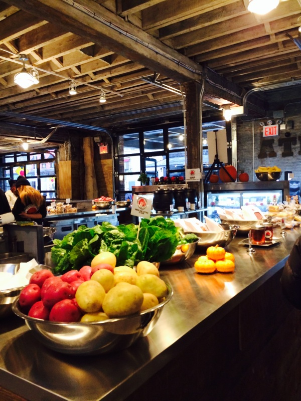 Ganservoort Market food display